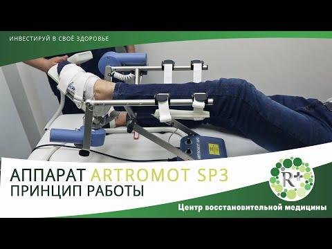 ARTROMOT SP3. Принцип работы. Аппарат для разработки голеностопного сустава