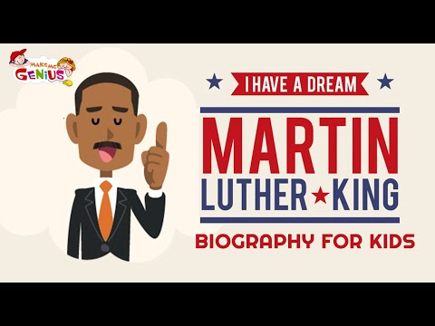 I Have A Dream- Biography of Martin Luther King For Kids