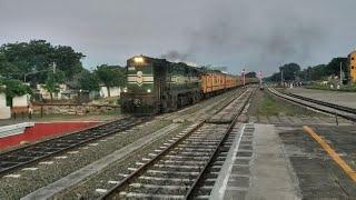 16852 - Rameswaram Chennai Egmore Boatmail express || GOC WDG3A || Utkrisht coaches || Ind Railways