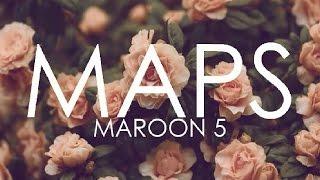 Maroon 5 - Maps (Explicit)  with LYRICS on SCREEN
