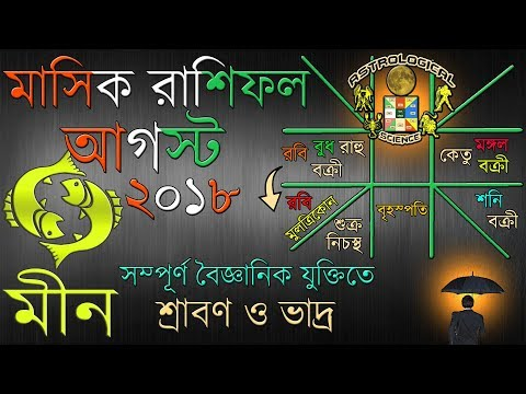 Download Aquarius And Pisces Monthly Horoscope In Bengali August