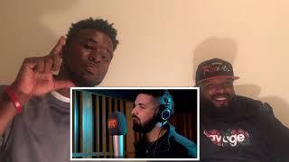 Drake - Behind Barz Freestyle Reaction