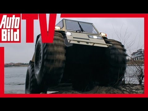 Sherp ATV  – Review/Test/ First Test Drive – Das Offroad-Amphi-Monster