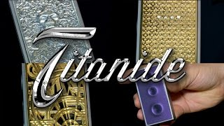 TITANIDE : Argent, or massif, diamants, peinture 3D !