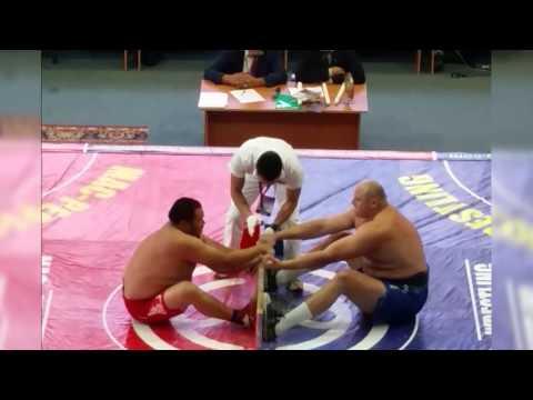 Пестряков vs Колибабчук. Финал Чемпионата России по мас-рестлингу - 2015