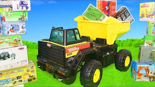 Truck Surprise Toys: Excavator, Trains, Dump Trucks & Police Cars Ride On Toy Vehicles for Kids