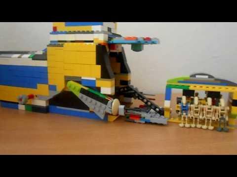 Lego Star Wars Battlefront 2 Moc - The Battle of Naboo
