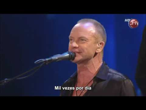 Sting - Every Little Thing She Does Is Magic (Live HD) Legendado em PT- BR