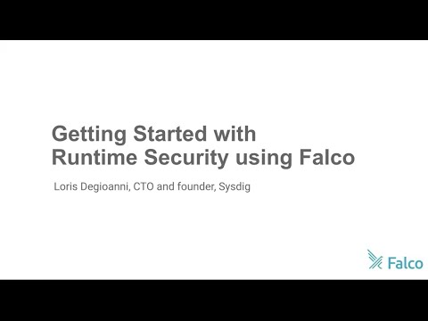 Getting started with container runtime security using Falco