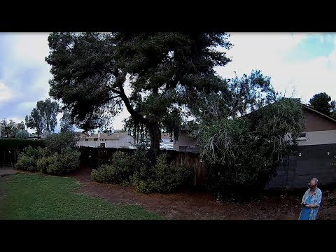 Geprc CineEye 79HD Modded - FPV Outside My House After Heavy Rain Storm