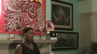 Veronica Allen, Panoramic Poetry 7/25/10, African American Art, October Gallery