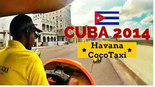 preview picture of video 'Cuba 2014 - Havana Tour by Cocotaxi - GoPro Hero3+'