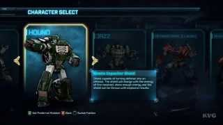 Transformers: Rise of the Dark Spark - All Characters (Autobots | Decepticons) [ HD]