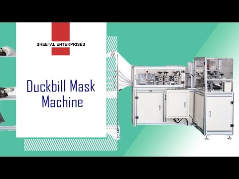 Automatic Ultrasonic Duckbill Mask Blank Machine
