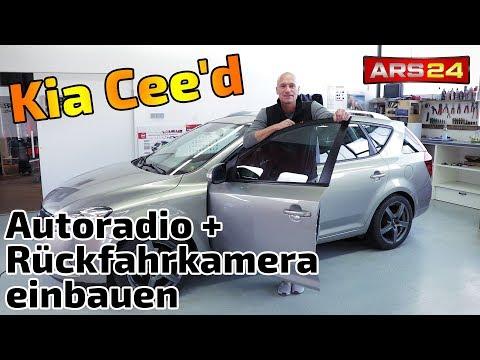 Kia Cee'd Autoradio einbauen + Rückfahrkamera und Dachantenne einbauen | ARS24