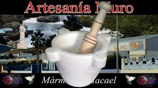 preview picture of video 'Morteros de mármol Macael'