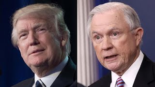 Trump rips Sessions over acting FBI director