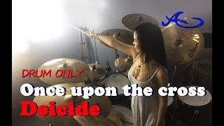 Deicide  - Once Upon The Cross drum only(cover by Ami Kim) {27th-2}