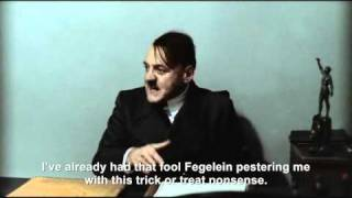 "Hitler is asked ""Trick or Treat?"""