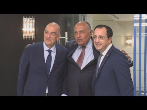 Τριμερής των ΥΠΕΞ Ελλάδας-Κύπρου-Αιγύπτου