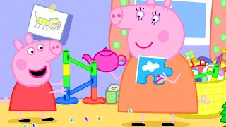 Peppa Pig Official Channel | Play Marble Run with Peppa Pig