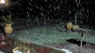 preview picture of video 'Snow in Misgav Am - February 2010'