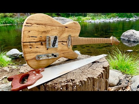 Making a Guitar in a Forest of the Forest