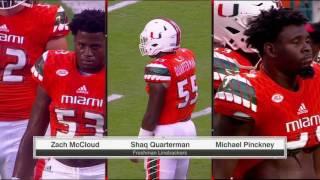 NCAAF - Florida A&M at Miami (2016)