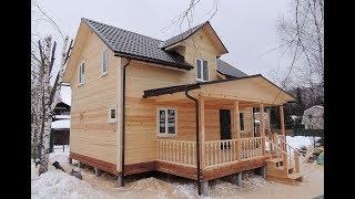 Поэтапное строительство дома из бруса | под ключ