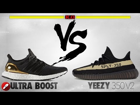 Adidas Ultra Boost vs Yeezy 350 v2!
