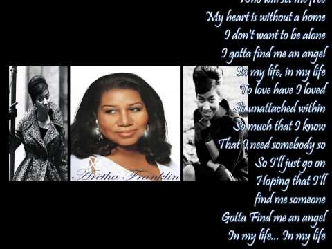 Gotta Find Me An Angel ✰ Aretha Franklin