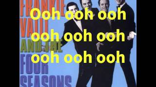 Rag Doll - The Four Seasons - Lyrics