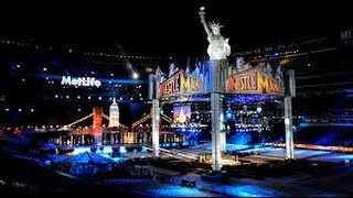 WWE WrestleMania 29 Theme Song 'Bones' by Young Guns HD (with full matchcard)