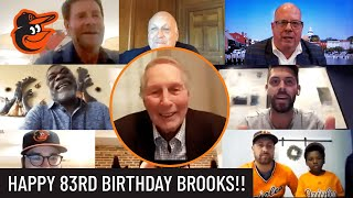 Brooks Robinson Celebrated His 83rd Birthday In Style W/ Orioles Legends & Special Guests