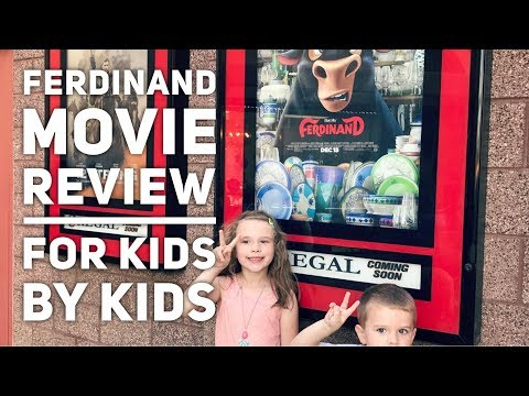 Ferdinand Movie Review – For Kids, By Kids