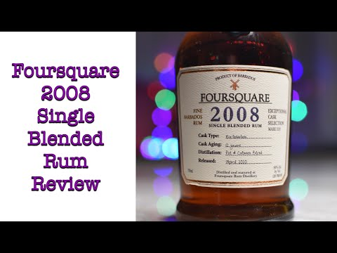 Foursquare 2008 Single Blended Rum Review