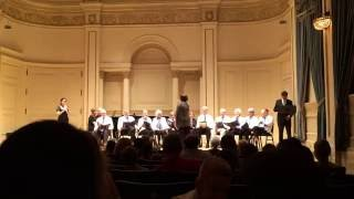 The 80th Street Residence Choir performing at Carnegie Hall