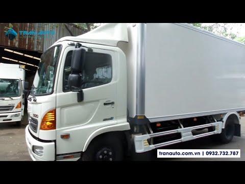 Xe tải Hino thùng bảo ôn FC EURO 4 2018 | TRAN AUTO