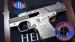 Shooting the NEW Heizer Defense PKO 45, PAR1, and PAK1 Pocket Pistols - Gunblast.com