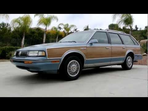 1988 Oldsmobile Cutlass Ciera Cruiser Station Wagon Estate Break 2 Owner Woodie