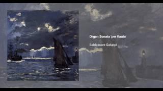 Organ Sonata 'per flauto'