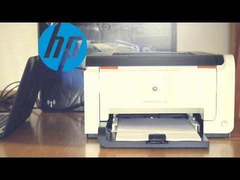 HP Laserjet CP1025nw - La stampante laser a colori Wifi Low cost | 4K