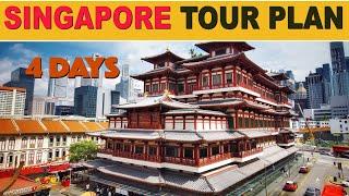 Singapore Tour Plan