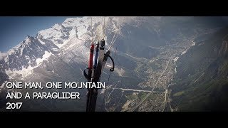 One Man, One Mountain and a Paraglider