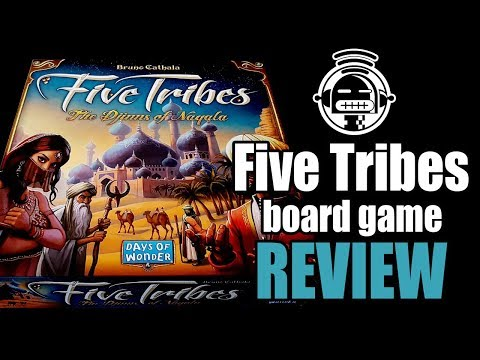 Five tribes game review by Demented Robot Games