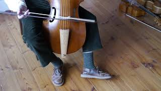 Holding the bass viol, part 2 with Alison Crum