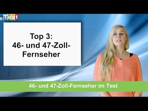 eTest Top 3: Fernseher mit 46 bis 47 Zoll Bilddiagonale im Test