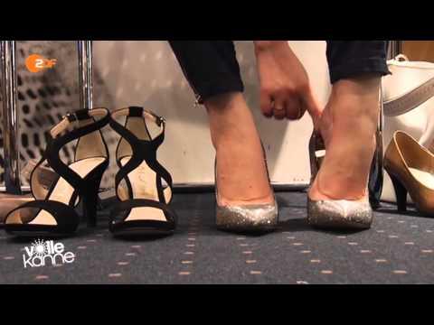 Gut zu Fuß trotz hohem Absatz - Pumps, High Heels, Peeptoes, Stilettos - Volle Kanne - ZDF