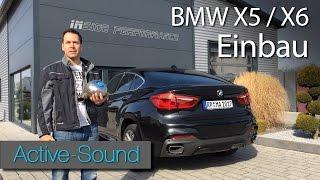 Active Sound Einbauanleitung für BMW X6 und X5 / Tutorial