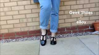 How To // Style Geek Shoes (Mary Janes)